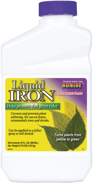 Bonide Liquid Iron Concentrate Quart