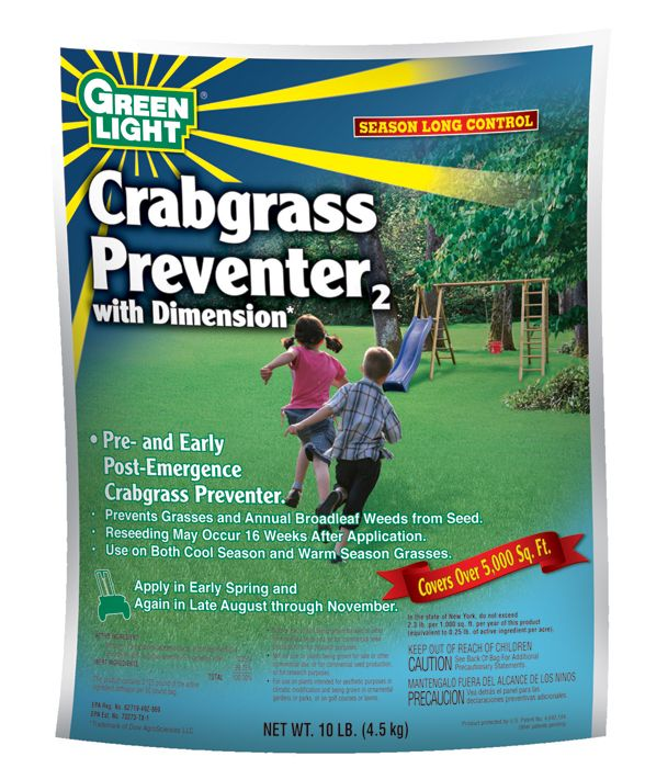 Dimension Crabgrass Preventer