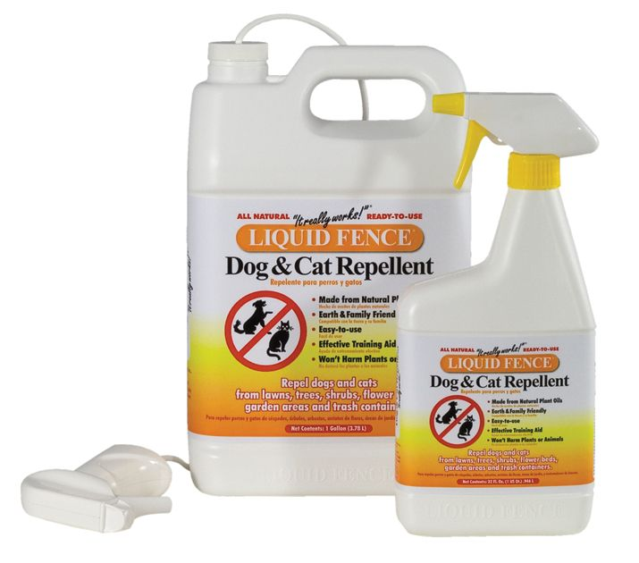 Liquid Fence Dog And Cat Repellent Gallon
