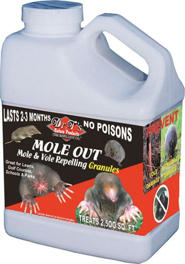 Mole Out Granules 5 Lb Covers 2500 Sq. Ft.