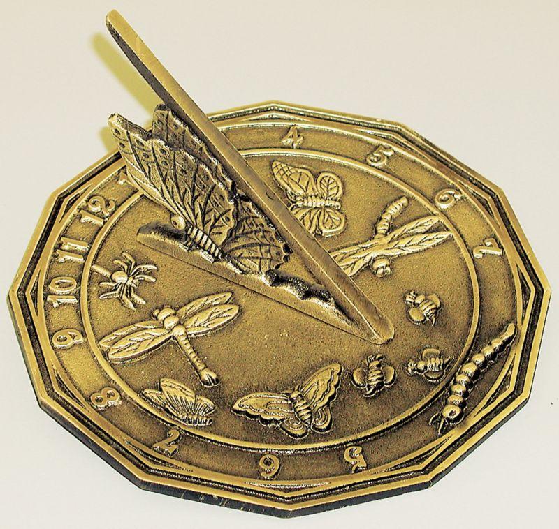 Butterfly Sundial
