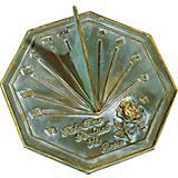 Rose Sundial