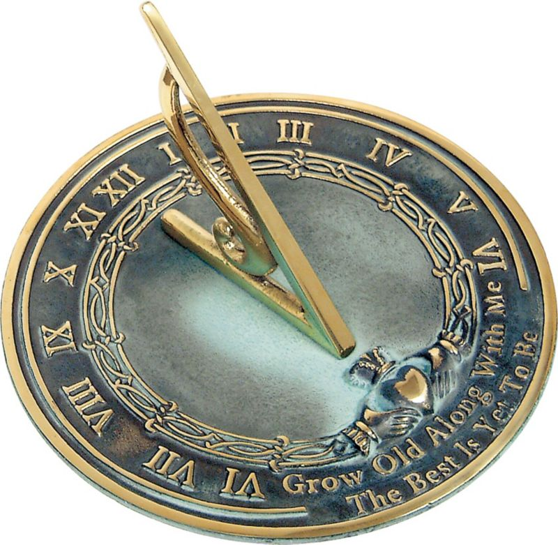 Grow Old With Me Sundial
