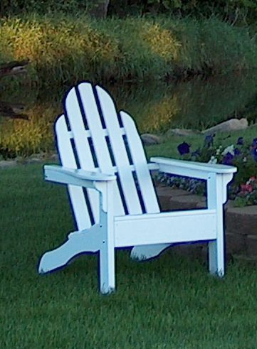 Adirondack Chair Red