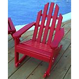 Kiddie Adirondack Rocking Chair