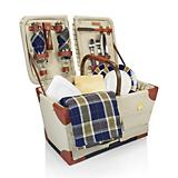 Pioneer Picnic Basket Navy and Gold