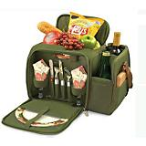 Malibu Picnic Pack-Pine Green w/Nouveau Grape