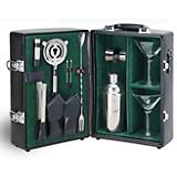 Manhattan Cocktail Case-Black w/Green