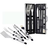 Fiero Barbeque Set-Black w/Silver and Black