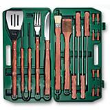 18-Piece BBQ Set-Hunter Green