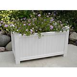 Large Slat Vinyl Planter