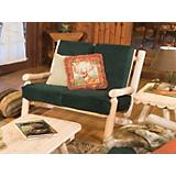 Log Living Room Loveseat