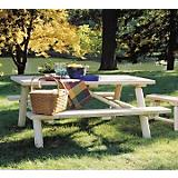 Table Log Picnic