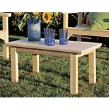 English Garden Table