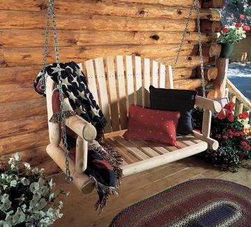 Swing Seat 4ftFt Porch W/Chain