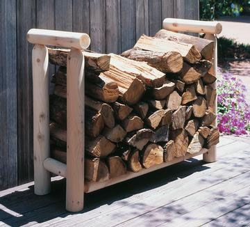 Firewood Rack Log 2ft