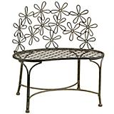 Daisy Metal Bench