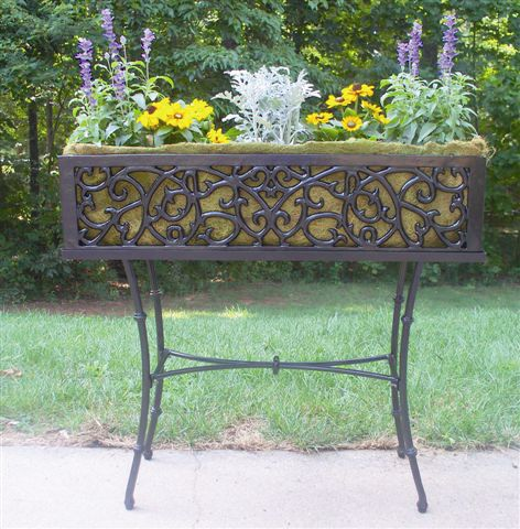 Cast Iron Stand For 36In Charleston Black