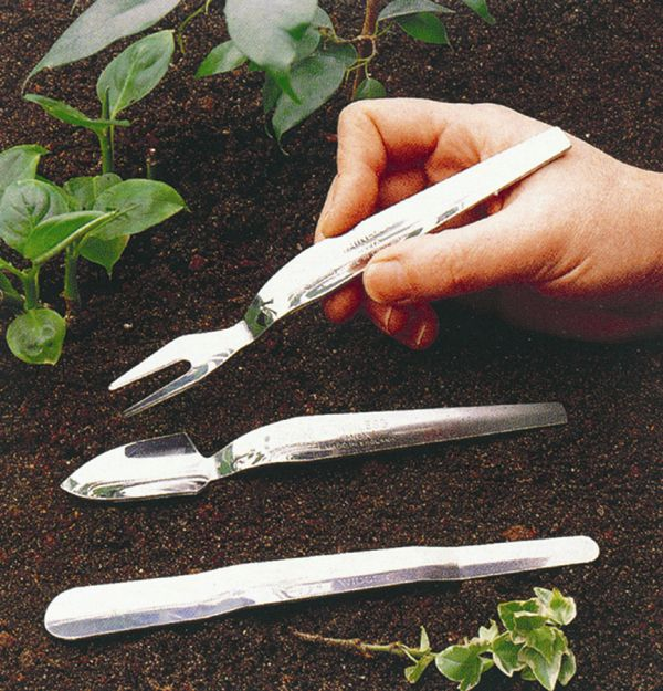 Seed Starter Tool Set 2 Piece Stainless Steel