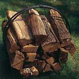 Wood Pile Cover For Hoop