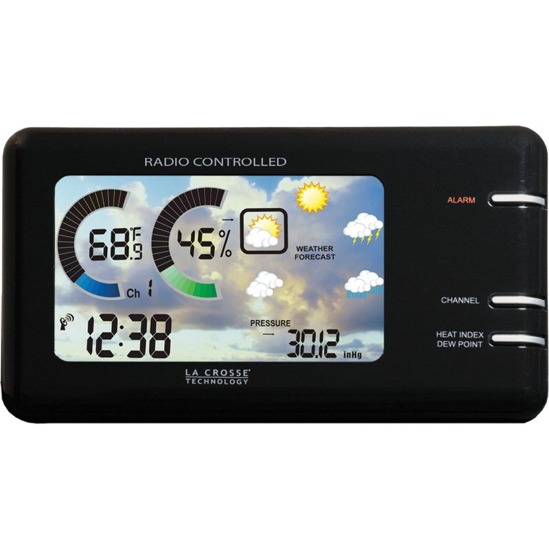 Wireless Weather Stations White Color Screen