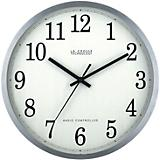 12in Stainless Steel Atomic Clock