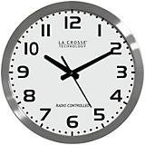 16in Atomic White Analog Clock