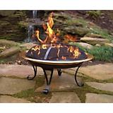 26in Portable Copper Firepit