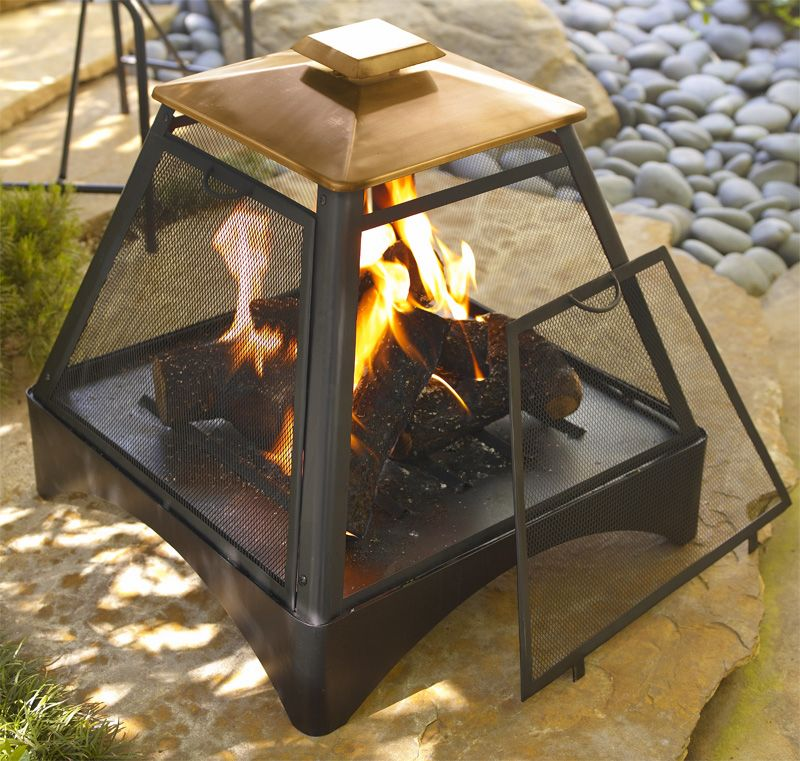 Copper Pagoda Fireplace