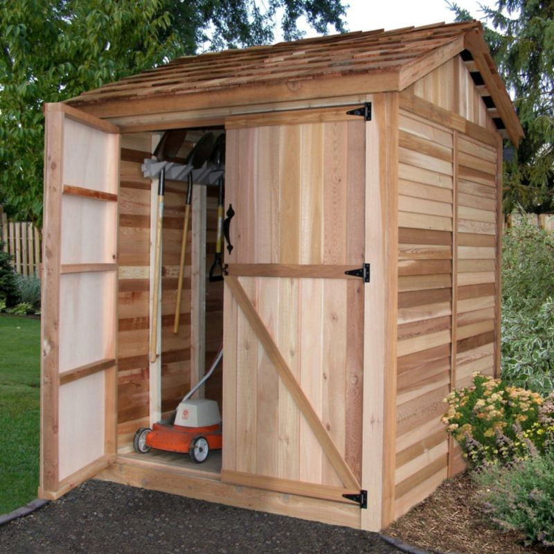 6x6 Maximizer Storage Shed