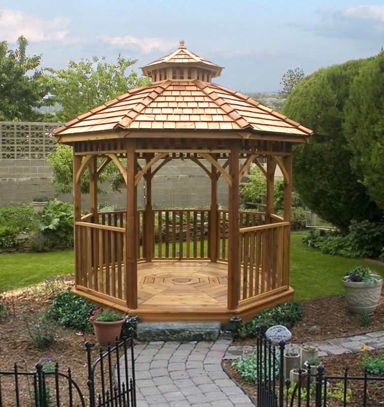 12 ft Creekside Octagon Gazebo- Precut