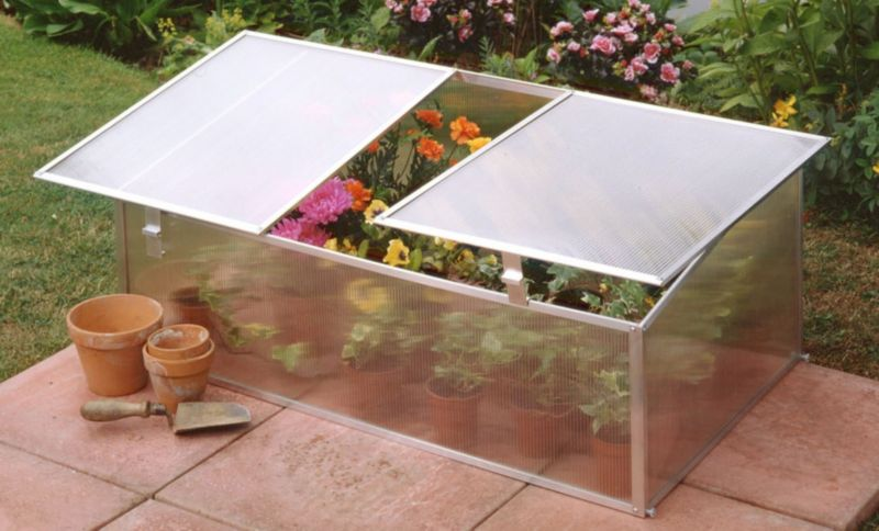 Halls Single Poly Cold Frame