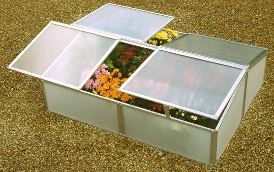 Double Poly Cold Frame