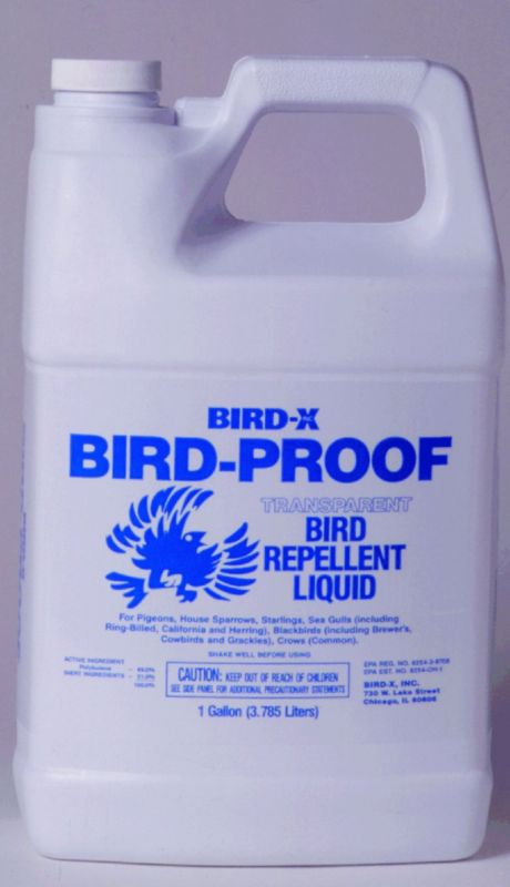 Bird Proof Bird Repellent Liquid Gallon