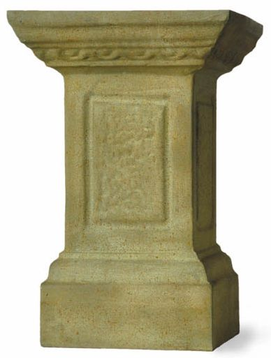 Bronzage Finish Pedestal