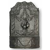 Dolphin Fountain in Faux Lead Finish