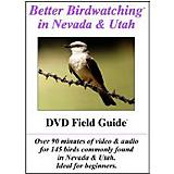 Nevada and Utah Birdwatching DVD