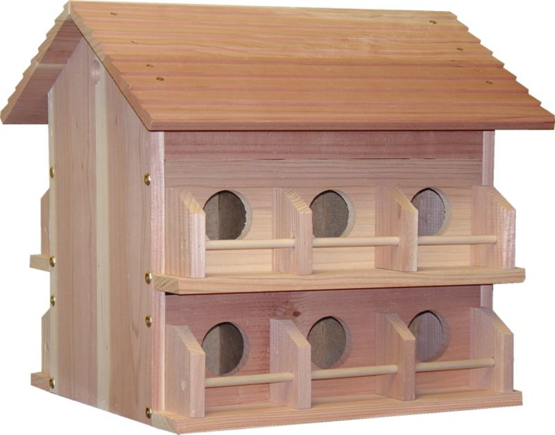 Deluxe Cedar Purple Martin House
