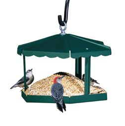 Fly-Through Gazebo Feeder (HS3400R 073928834002 Wild Bird Supplies Bird Feeders) photo
