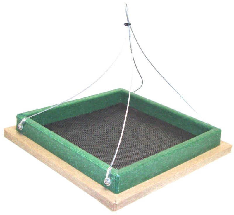 Hanging Platform Feeder (SERUBSHPF100HD 645194007000 Wild Bird Supplies Bird Feeders) photo