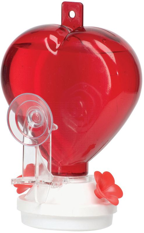 Heart Hummingbird Feeder (ARTLINE5571 025845123714 Wild Bird Supplies Bird Feeders) photo