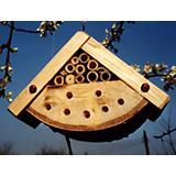 Wooden Ladybug Box House
