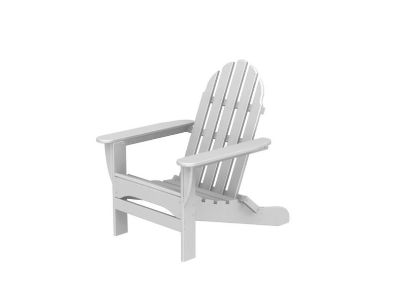 Polywood Adirondack Chair White