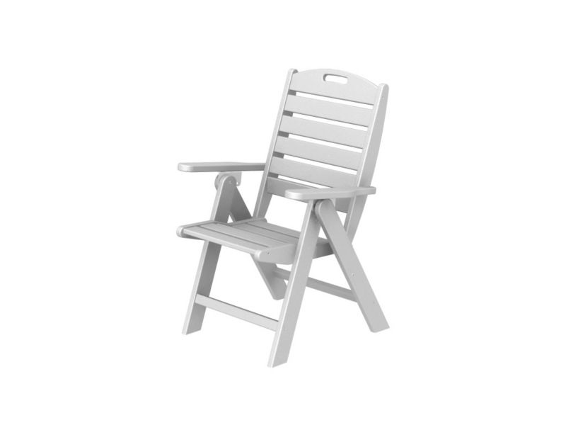 Polywood Nautical Highback Chair Teak