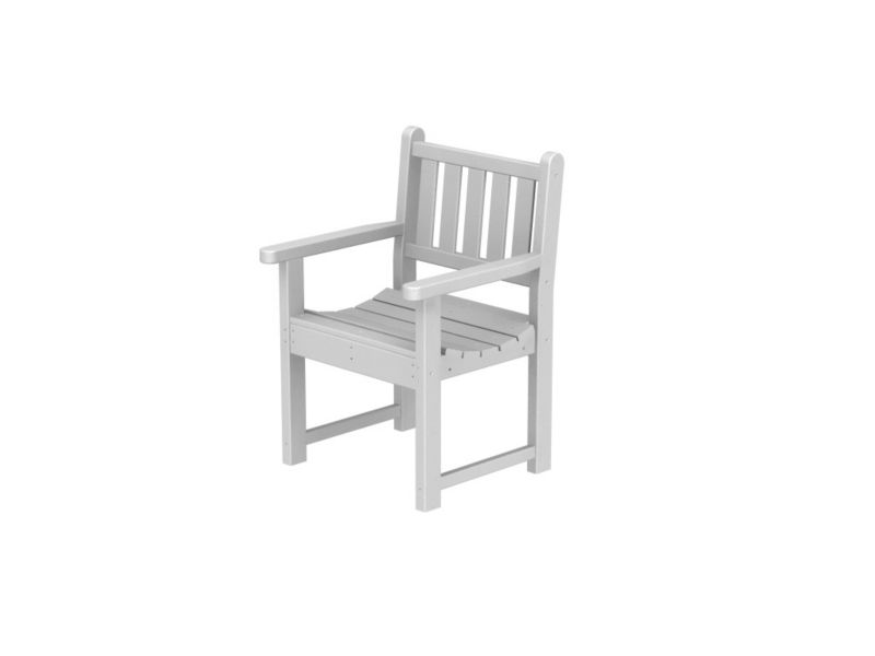 Polywood Traditional Arm Chair Teak