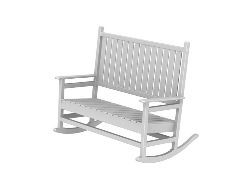 Polywood Traditional Double Rocker Teak