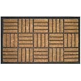 Criss Cross Rubber Back Doormat