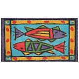 Passion Fish Coir Doormat