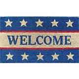 Welcome Patriotic Coir Doormat