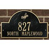 Arched Wall Plaque-MLB